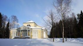 des pavillon pavlovsk Πετρούπολη τριαντάφυ& Στοκ Φωτογραφία