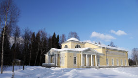 des pavillon pavlovsk Πετρούπολη τριαντάφυ& Στοκ Φωτογραφίες
