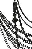 Des perles est faites d'une agate en pierre Image libre de droits