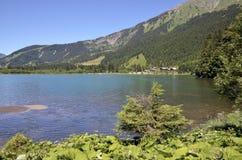 DES Plagnes del lago in Francia Immagini Stock
