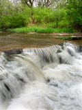 Des Plaines Conservation Gebiedswaterval Stock Afbeelding