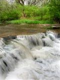 Des- Plainesnaturschutzgebiet-Wasserfall Stockbild