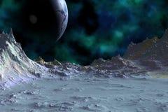 Des planètes plus étranges Image libre de droits