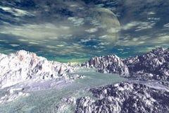 Des planètes plus étranges Photos stock