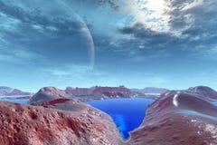 Des planètes plus étranges Image stock