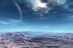 Des planètes plus étranges Photo libre de droits