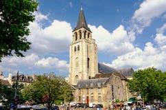 圣日耳曼des Pres在巴黎,法国 库存图片