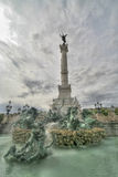 DES Quinconces, Bordeaux, Francia del Esplanade. Immagini Stock