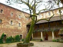 DES Recollets, Bergerac (France de Cloitre Images libres de droits