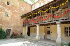 DES Recollets de Cloitre de Bergerac dans Dordogne Photo stock
