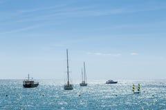 DES Riu de Santa Eulalia, Ibiza Imagem de Stock