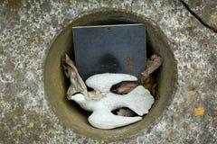 des, Sainte Genevieve des Bois, Liers, Rosyjski cmentarz w Francja fotografia royalty free