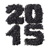 2015 des schwarzen Kaviars Lizenzfreies Stockfoto