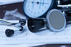 Des soins de santé de coeur Image stock