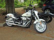 Des Superbike-Motorrades 114 Harley Davidson Kubikzoll V zweistrahlig Stockfotografie