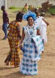 DES SUPPORTS PLUS MAGNIFIQUES DE L'AFRICAIN CREREMONY photographie stock