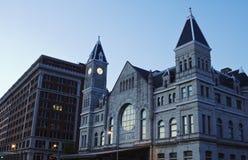 Des syndicats de gare le centre ville dedans de Louisville photo stock
