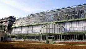 des szklarni jardin Paris plantes ponownie otwierać Obrazy Royalty Free
