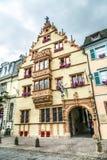 DES Têtes de Maison de La à Colmar Photo libre de droits