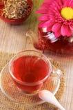 Des Tees Leben noch stockfoto