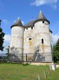 DES Tourelles de château en Vernon, France Image stock