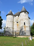 DES Tourelles del castello in Vernon, Francia Immagine Stock