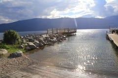 Des Tourismus Seeseitenerholungsorte BC Lizenzfreies Stockfoto