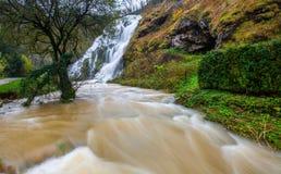 DES Tufs da cascata, France II foto de stock