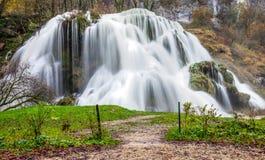 DES Tufs, Francia de la cascada foto de archivo libre de regalías