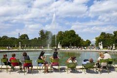 DES Tuileries de Jardin à Paris photo stock