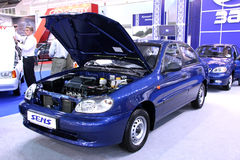 Des véhicules à moteur-exposition Image stock