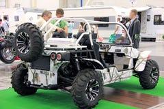 Des véhicules à moteur-exposition Photographie stock