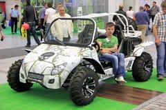 Des véhicules à moteur-exposition Photo libre de droits