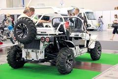 Des véhicules à moteur-exposition Images stock