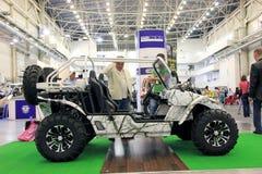 Des véhicules à moteur-exposition Image libre de droits