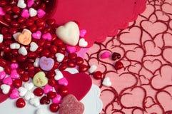 Des valentines - soyez le mien Images stock