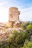 DES Verger Viewpoint, Majorca de Torre photo stock