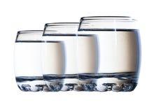 Des verres de vodka Images stock