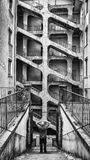DES Voraces, Francia di Cour fotografia stock