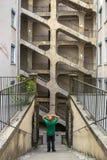 DES Voraces, Francia di Cour fotografia stock libera da diritti