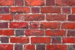 Des Wand-Hintergrundes des roten Backsteins Retro- Weinlese Stockbilder
