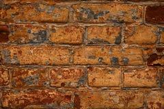 Des Wand-Hintergrundes des roten Backsteins grungy rostige Blöcke des Steins Stockfotografie