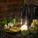 Des Weins Leben noch Stockfoto