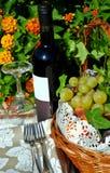 Des Weins Leben noch Lizenzfreies Stockfoto