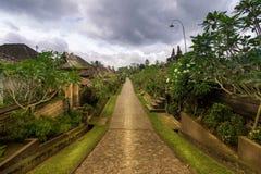 Desa Penglipuran Bali foto de archivo libre de regalías