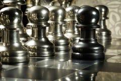 Desafío del ajedrez Foto de archivo
