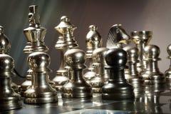 Desafío del ajedrez Fotografía de archivo
