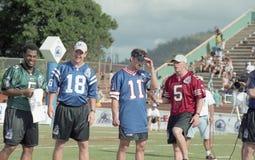 Desafío 2001 del NFL QB Fotografía de archivo