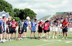 2001 desafío del NFL QB, Kauai, Hawaii Foto de archivo libre de regalías