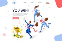 Desafío financiero de la taza del acontecimiento del desafío de la taza stock de ilustración